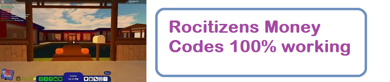 Rocitizens Money Codes